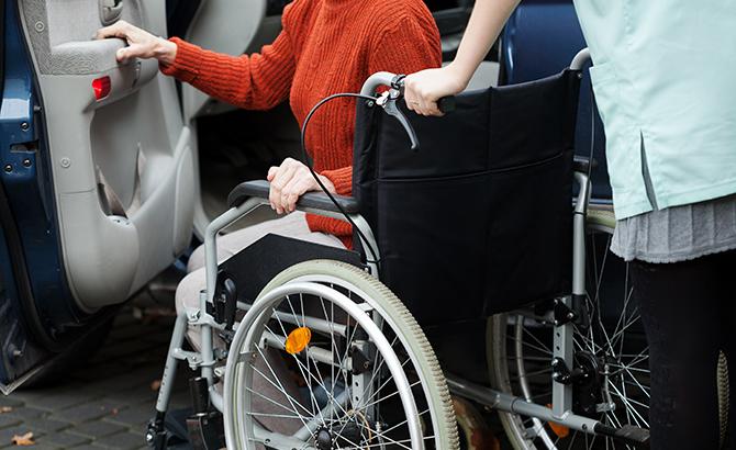 車いすの方でもタクシーにご乗車いただけます!!