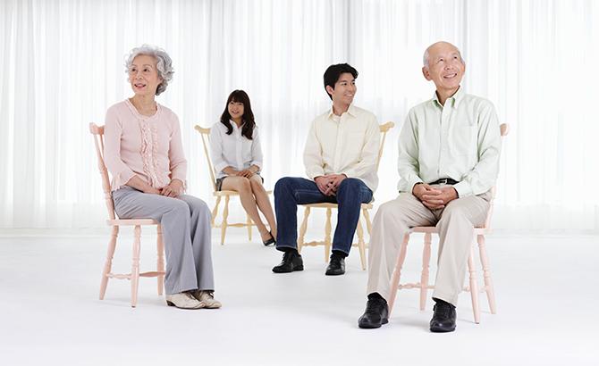 高齢化に伴う中間層が激増中